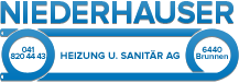 Niederhauser Heizung u. Sanitär AG, Brunnen